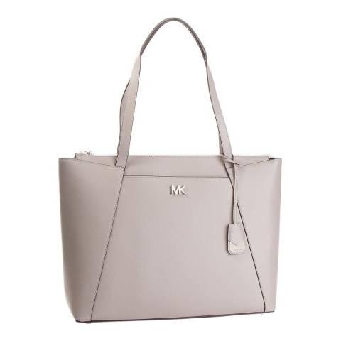 Michael Kors Pearl Grey Maddie LG Tote Bag