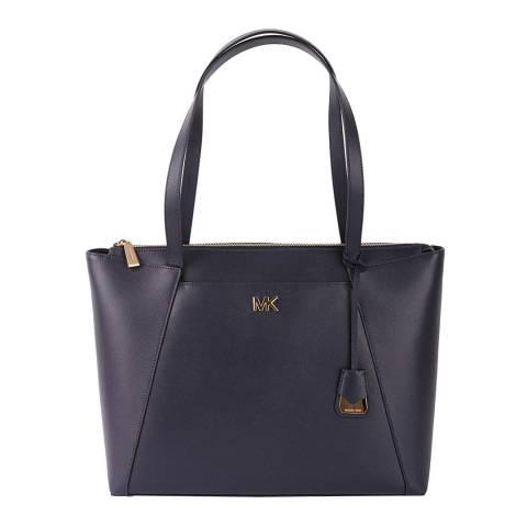 Michael Kors Admiral Blue Maddie LG Tote Bag