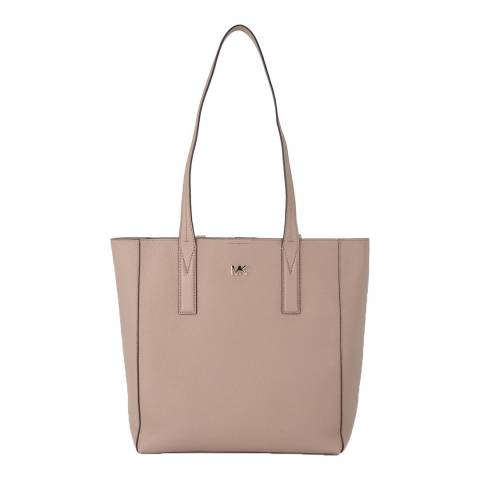 Michael Kors Truffle Junie Leather Tote Bag
