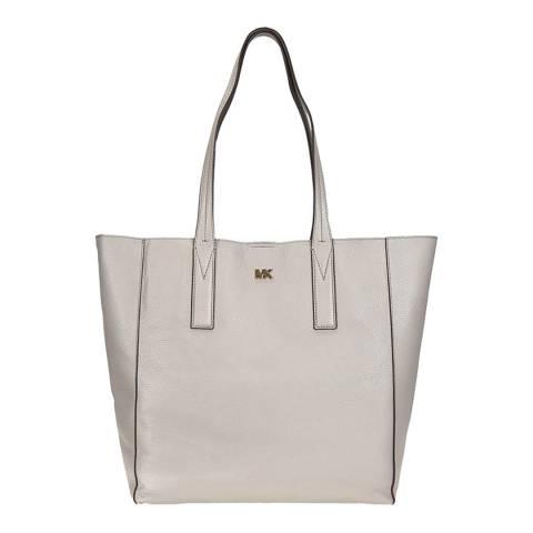 Michael Kors Pearl Grey Junie LG Tote Bag