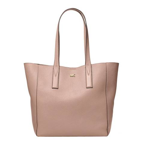 Michael Kors Mushroom Junie Leather Tote Bag