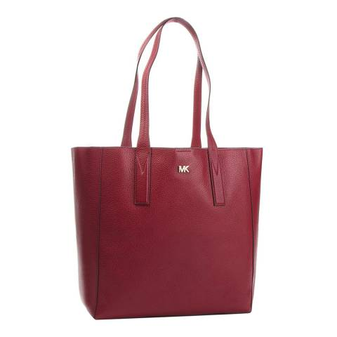 Michael Kors Maroon Junie LG Tote Bag
