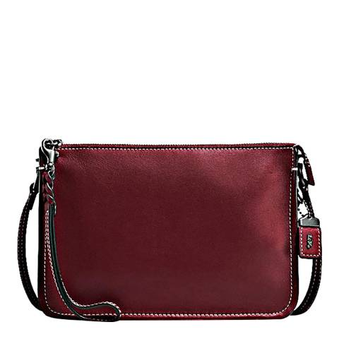 Coach Bordeaux Glovetanned Leather Soho Crossbody