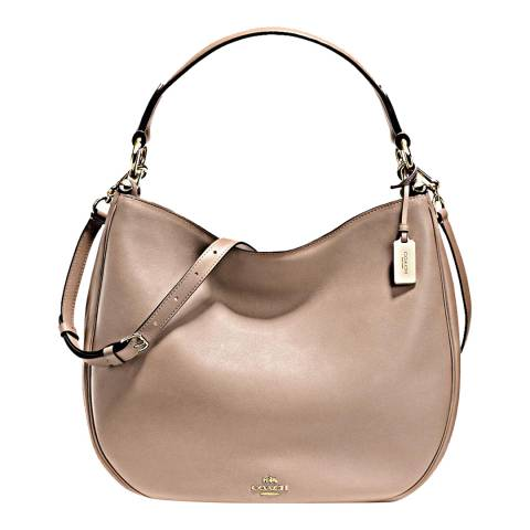 Coach Stone Glovetan Leather Nomad Hobo Bag