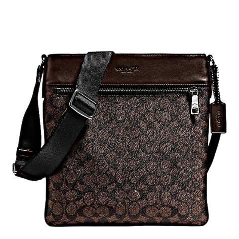 Coach Mahogany Bowery Crossbody Bag