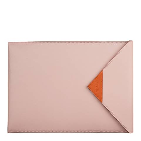 Stow Light Pink Leather iPad Sleeve