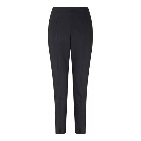 Baukjen Black Ashcroft Tailored Cotton Blend Trousers