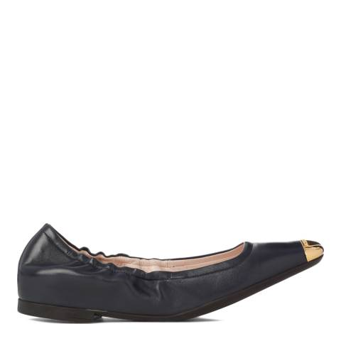 BALLY Women's Dark Navy Cece Ballerina Flat