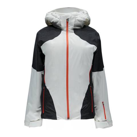 Spyder Women's White/Black Rhapsody Jacket