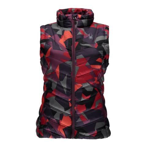 Spyder Women's Multi-Coloured Geared Gilet