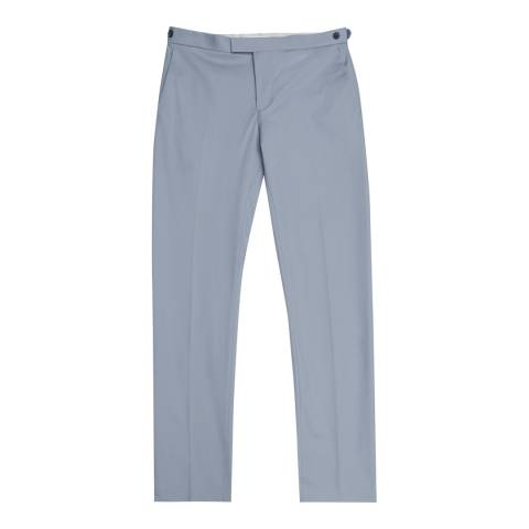 Reiss Soft Blue Jeremy Slim Fit Suit Trousers