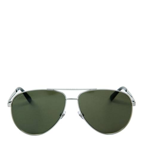 Gucci Women's Silver Sunglasses 61mm