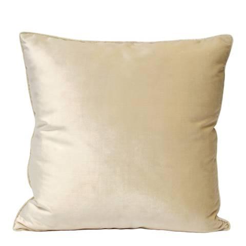 RIVA home Ivory Splendour Velvet Cushion 55x55cm