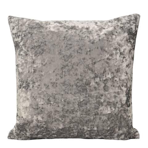 RIVA home Silver Roma Velvet 50x50cm Cushion