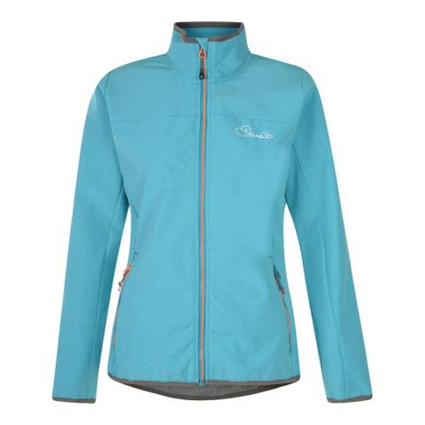 Dare2B Blue Centra Softshell Jacket