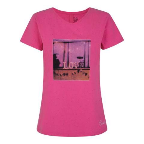 Dare2B Pink Amora T-Shirt