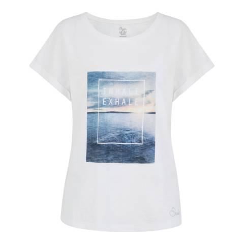 Dare2B White Laidback T-Shirt