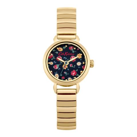 Cath Kidston Gold Little Flower Buds Expander Watch