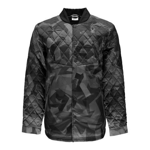Spyder Men's Grey Ouzo Shirt Insulator Jacket