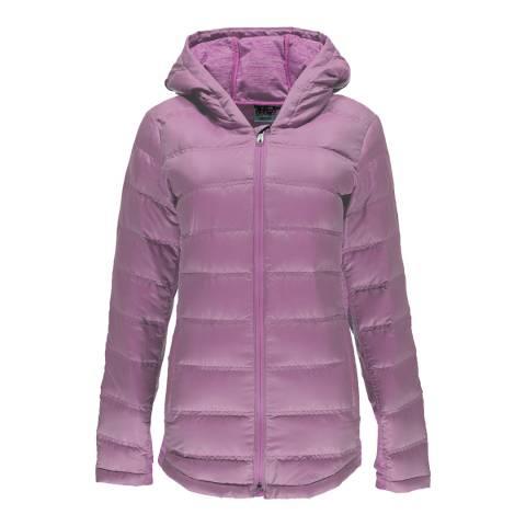 Spyder Women's Purple Solitude Hoody Jacket