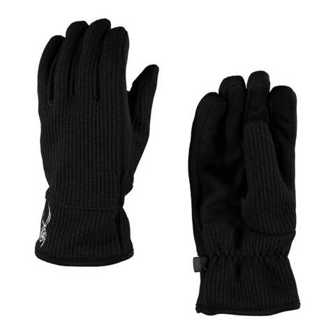 Spyder Black Stryke Fleece Gloves