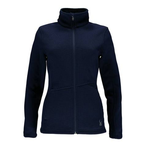 Spyder Women's Navy Endure Full Zip Mid Wt Jacket
