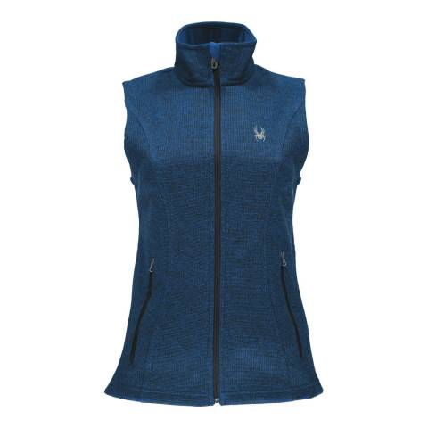 Spyder Women's Navy Endure Novelty Gilet