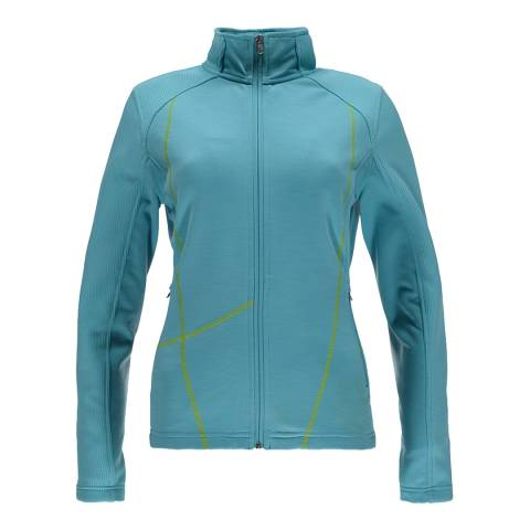 Spyder Women's Blue Bandita Mid Jacket