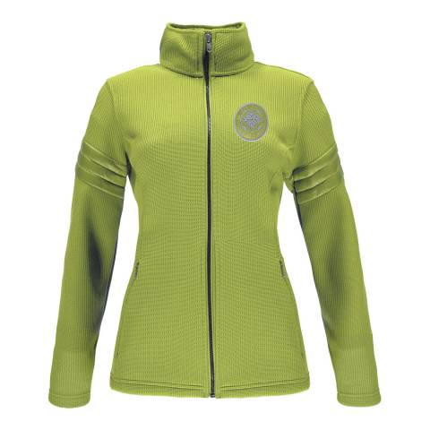 Spyder Women's Green Divine Mid Jacket
