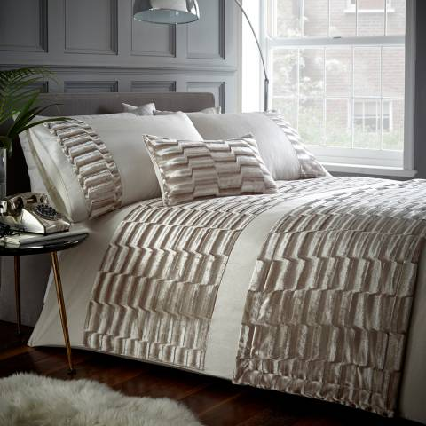 Portfolio Murray Quilted Runner, Oyster
