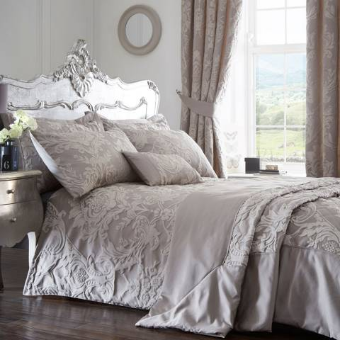 Portfolio Howard King Duvet Cover Set, Silver