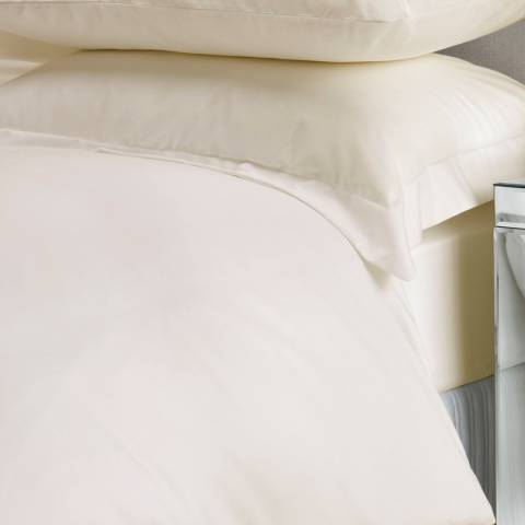 Christy 400TC Sateen Double Deep Fitted Sheet, Gold