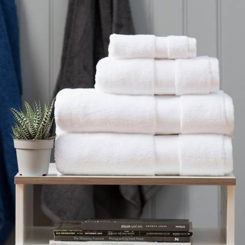 The Lyndon Company High-Loft Cotton Bath Towel, White
