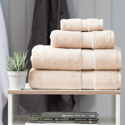 The Lyndon Company High-Loft Cotton Bath Towel, Latte