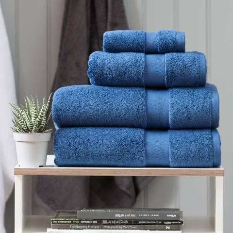 The Lyndon Company High-Loft Cotton Bath Towel, Nautical