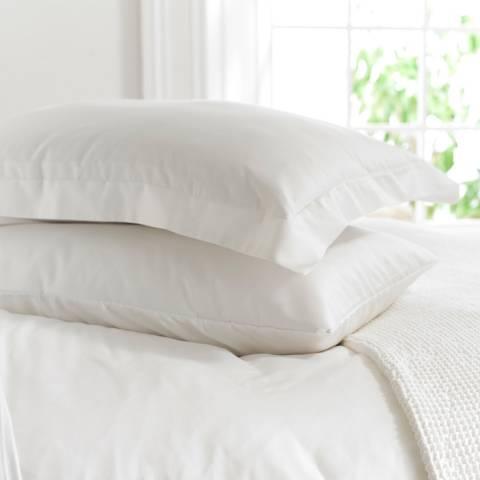 The Lyndon Company 800TC Oxford Pillowcase, White