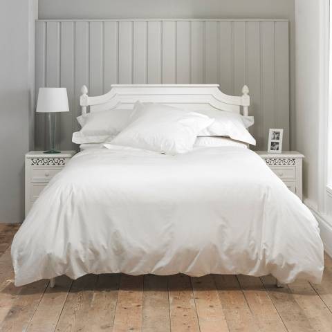 The Lyndon Company 800TC Double Duvet Cover Set, White