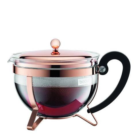 Bodum Chambord Tea Pot 1.3L, Copper