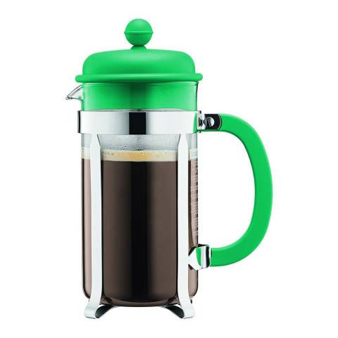 Bodum Caffettiera 8 Cup Coffee Maker, Green