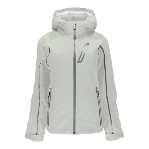 Spyder Women's Light Grey Duchess Mar Jacket