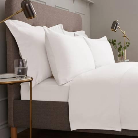IJP Luxury 600TC Single Flat Sheet, White