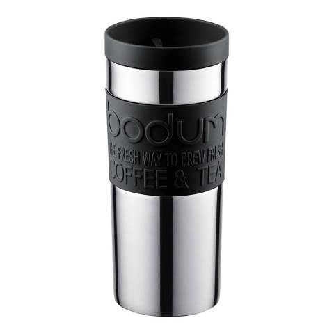 Bodum Black Stainless Steel  Travel Mug, 350ml