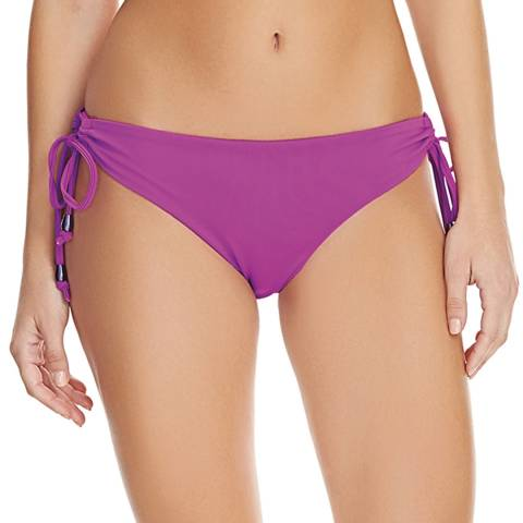 Freya Purple Deco Swim Bikini Tie Side Brief