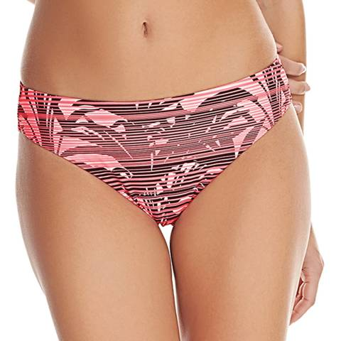 Freya Pink/Black Sunset Soul City Bikini Brief