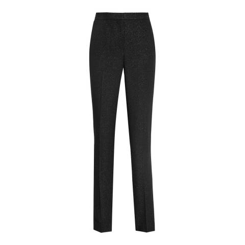 Reiss Black Simona Trousers