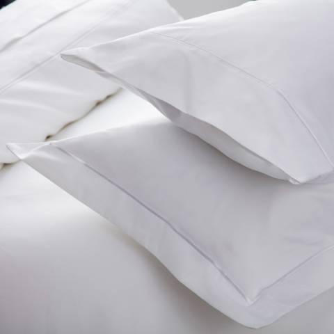 Belledorm 1000TC Oxford Pillowcase, White