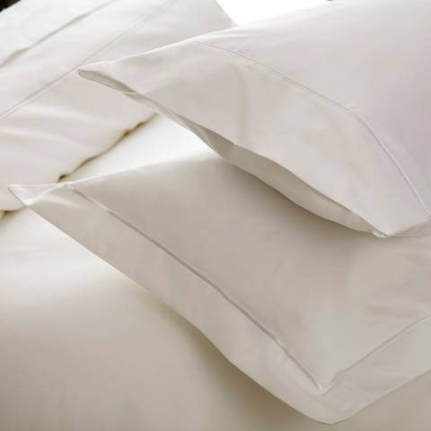 Belledorm 1000TC Oxford Pillowcase, Ivory