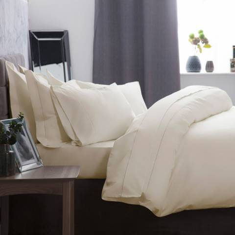 Belledorm Double 1000TC Duvet Cover, Ivory