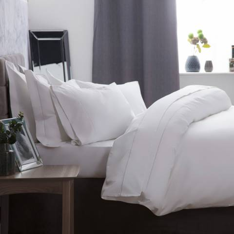 Belledorm King 1000TC Duvet Cover, White