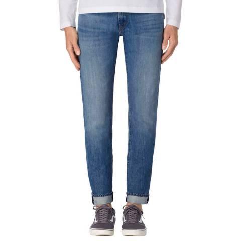 J Brand Umbra Blue Tyler Tapered Jeans